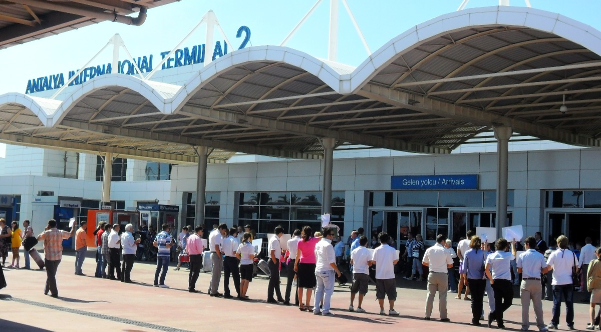 Number of tourists came to Antalya crossed-over 9 million by September 2018