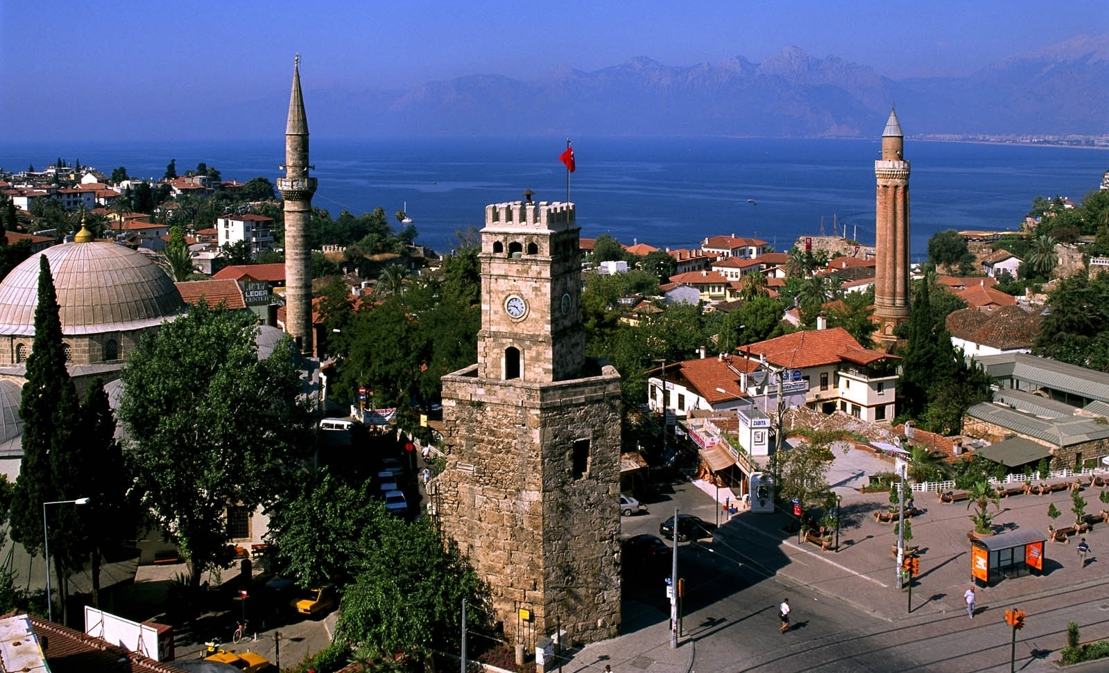 Antalya and Istanbul are the most popular destinations in Turkey